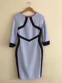 white and black long-sleeved dress Glasgow, G14 0HH