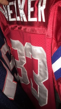Rare wes Welker Jersey has a small hole barley worn  Bel Air, 21014