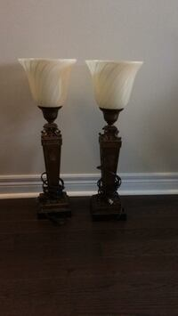 Table lamp 50$ for both Brampton, L7A 4M8