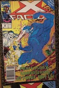 X Factor Comic Book (Marvel Comics)