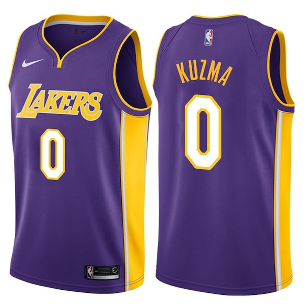 Used NBA Kyle Kuzma Los Angeles Lakers Jersey for sale in New York - letgo 286b4f6ee