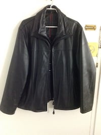 Britches Brand Brown out shell. genuine leather jacket very gentle used like new double zippers. Very warm for winter ,size Large (100./. )Excellent conditions Hamilton, L8V 4K6