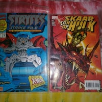 two Marvel Spider-Man comic books Los Angeles, 91335