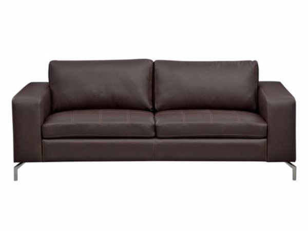 Brand New Iva Leather Sofa From American Signature Furniture 650 Firm