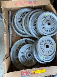 Weider Barbell Weights  Harrisburg, 17112
