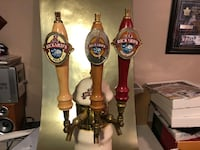 Rickard's Ceramic Beer Tap Tower with 3 Taps Vaughan