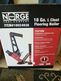 18 Gauge Cleat Flooring Nailer Stewartstown, 17363