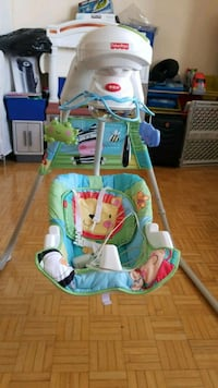 Fisher-price Baby's green and blue bouncer Toronto, M1P 4P2