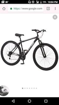 black and white hardtail mountain bike West Valley City, 84120