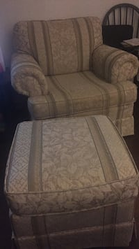 Grey sofa chair with ottoman Kitchener, N2M 4Y4