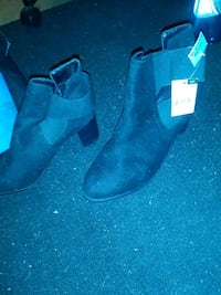 Brand new Size 10 black booties shoes Placentia, 92870