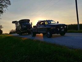 Car or trailer removal/towing/plowing