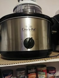 stainless steel Rival Crock Pot slow cooker Houma, 70363