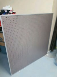 48 x 48 trimmed pegboard panels (4ft x 4ft)  - retail ready Sherwood Park, T8A 4W5