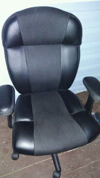 black leather desk chair Silver Spring, 20906