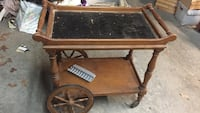 Wood tea cart Litchfield, 03052