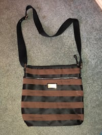 black and gray striped tote bag North Richland Hills, 76182