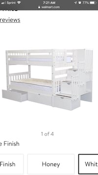 BRAND NEW Bunk Beds Twin over Twin in white w/ 2 Under Bed Drawers.... and much much more!! Alexandria, 22314