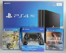 Sony PlayStation 4 Pro 1TB with free games
