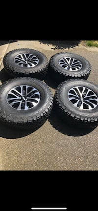 Ford F-150 Raptor tires and rims