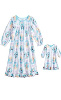 Frozen night gown and matching doll gown size 4t New! Essex, 21221