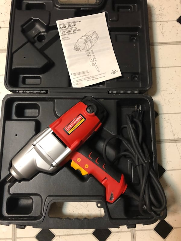 CRAFMAN PROFESSIONAL IMPACT WRENCH 1
