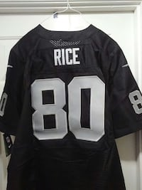 RAIDERS #80 RICE. SIZE 2XL San Jose, 95127