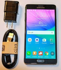 Samsung Note4 Unlocked very clean with charger and case  Toronto, M4H 1K2