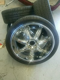 20 inch chrome rims Chicago, 60616