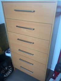 Chest of Drawers with 6 drawers Toronto, M2J
