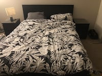 White and black floral bed comforter Oxon Hill, 20745