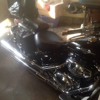 black and gray touring motorcycle New Franklin, 44216