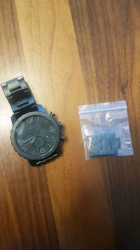 Mens Fossil Watch $80 Red Deer, T4R 0E6