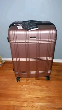 "London Fog 29"" Rose Gold Hard Shell Suitcase"