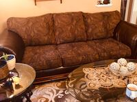 Brown and beige 3-seat sofa and Loveseat  Dearborn Heights, 48127