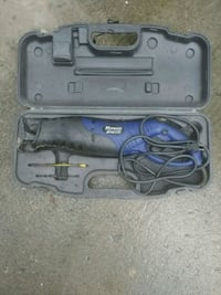 gray and blue corded power tool Belleville, K8P 3G9