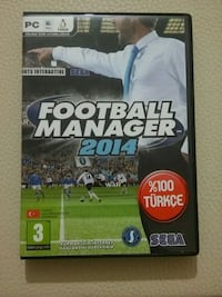 Orjinal Football Manager 2014 pc oyun cdsi