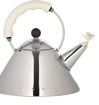 Alessi Michael Graves kettle in off white. Brand new, in box. Purchased in Italy. Toronto, M8Z 4R3