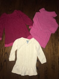 Baby/Toddler sweater dresses