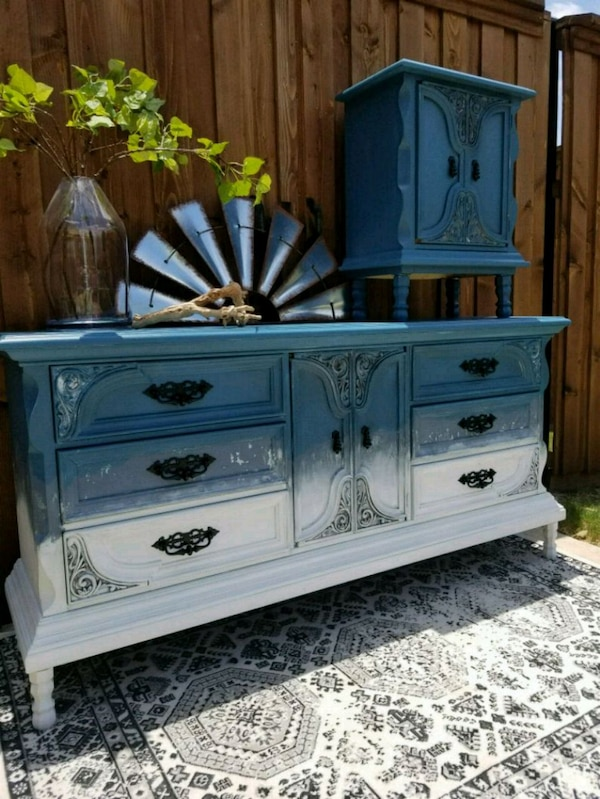cb620622c04560 Used Buffet dresser entry bedroom dining table farm for sale in ...