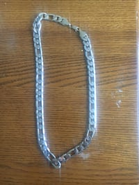 silver-colored chain necklace West Chicago