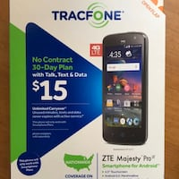 Tracfone ZTE Majesty Pro Laurel, 20707
