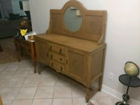 Antique buffet table / entryway table Tomball, 77377