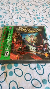 Legend of Dragoon psx Garland, 75043