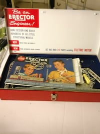 Erector set action helicopter by Gilbert