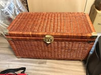 Wicker chest  Burlington, L7L 5S2