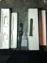 black Apple watch with black sports band Bakersfield, 93307