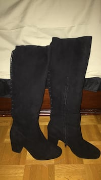 Black high boots- Forever 21 size 8 Vaughan, L6A 2R7
