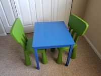 Kids Table and Chairs Colorado Springs, 80925