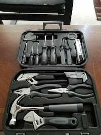 black and gray hand-held tool set Calgary, T2Y 3S1